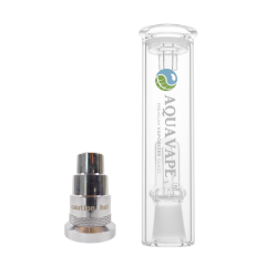 "AquaVape³ Water Filter + 14""/18"" Adapter made of stainless steel for FlowerMate AURA"