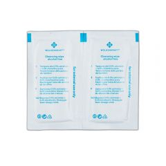 Alcohol-free cleaning wipes